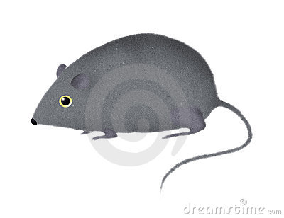 Stylized mouse or rat