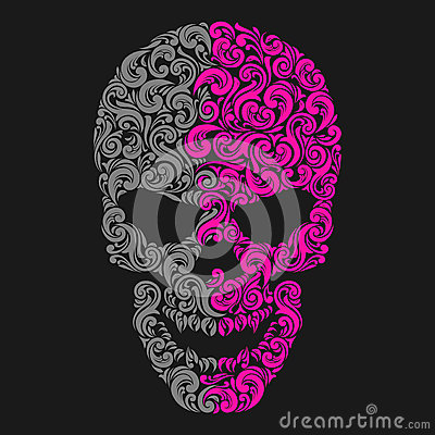 Free Stylized Skull Stock Photography - 51708632