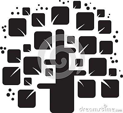 Free Stylized Tree Royalty Free Stock Photos - 20900608