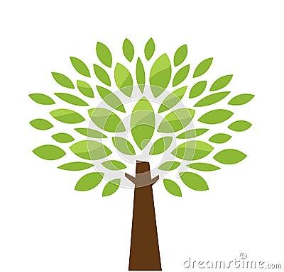Free Stylized Tree Stock Image - 24823341