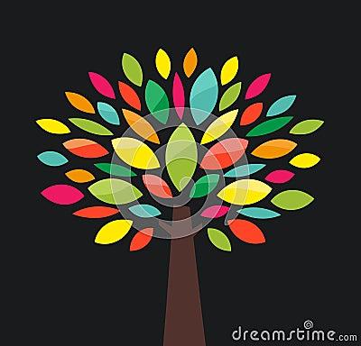 Free Stylized Tree Stock Image - 27319111