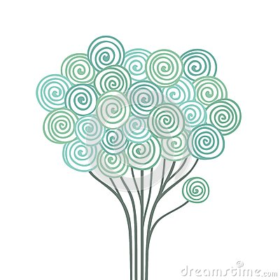 Free Stylized Tree Royalty Free Stock Photography - 28977457