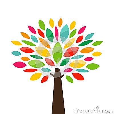 Free Stylized Tree Royalty Free Stock Photography - 30554717