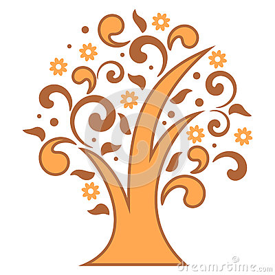 Free Stylized Tree Royalty Free Stock Photography - 31496847