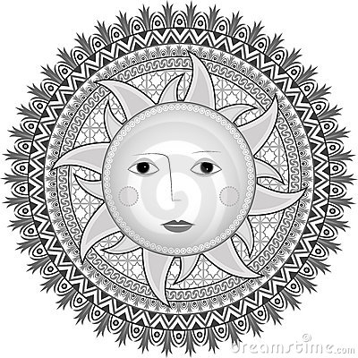 Stylowy Rosjanina słońce
