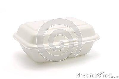 Styrofoam meal box