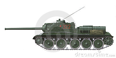 SU-85 self propelled gun