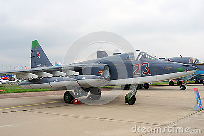 SU25-SM at MAKS-2013 Editorial Image