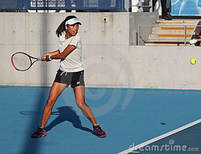 Su-Wei Hsieh (TPE), tennis player Editorial Stock Photo
