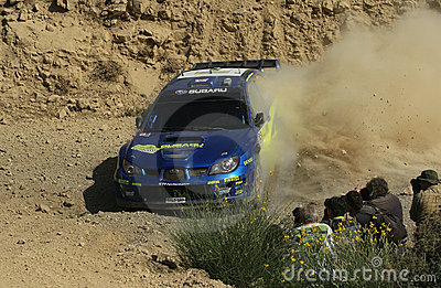 Subaru Impenza Wrc Editorial Stock Photo