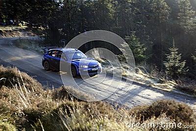 Subaru Impreza World Rally Team - Editorial Photography