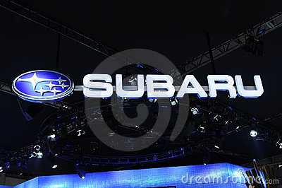 Subaru  logo Editorial Photography
