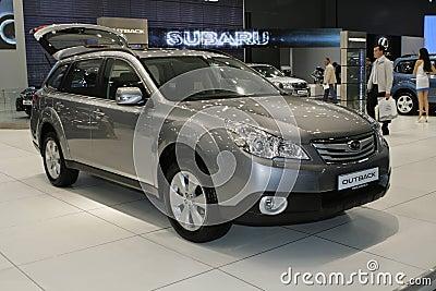 Subaru Outback Editorial Image