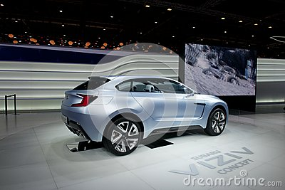 Subaru Viziv concept Editorial Stock Photo