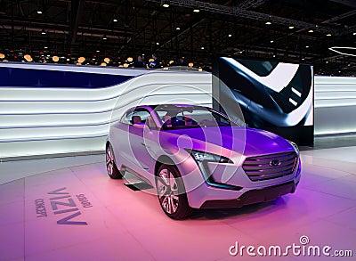 Subaru Viziv concept Editorial Image