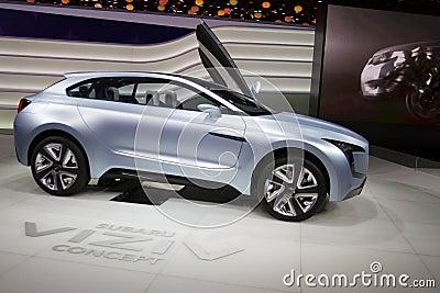 Subaru Viziv Concept - Geneva Motor Show 2013 Editorial Image