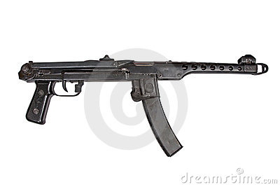 Submachine gun pps