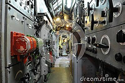 Submarine Boat U11, Control Room