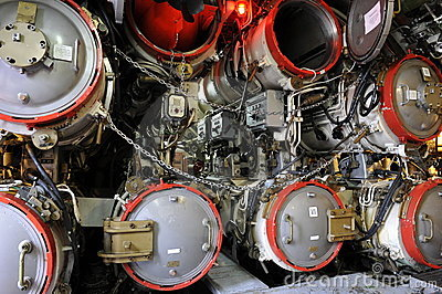 Submarine Boat U11, Torpedo Room
