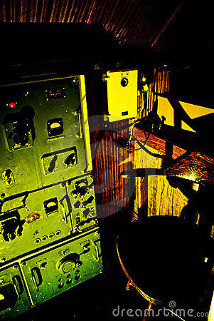 Submarine Radio Room