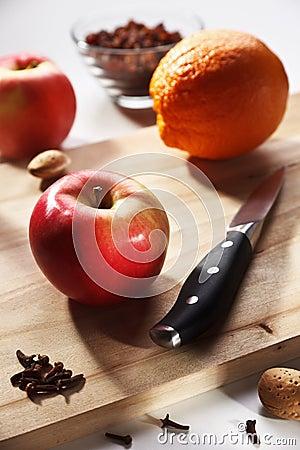 Substance of fruit salad