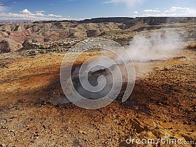 Subterranean Burning Coal on Smokey Mountain