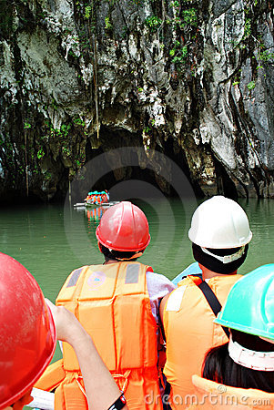 Free Subterranean River National Park Royalty Free Stock Image - 13633076