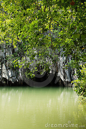Free Subterranean River National ParkSubterranean River Royalty Free Stock Photo - 13921685