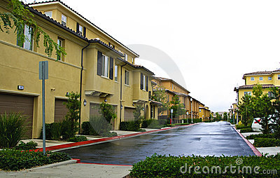 Suburb Apartment Complex