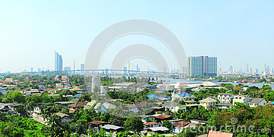 Suburb of Bangkok
