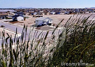 Suburb housing