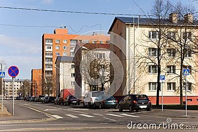 Suburb of Tallinn