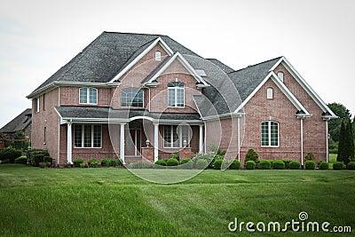Suburban Brick House