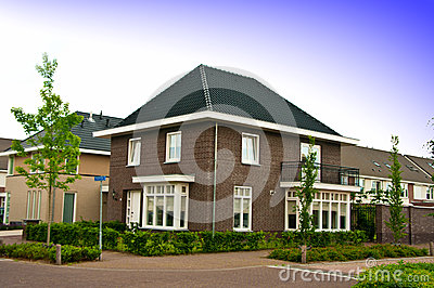 Suburban dutch house