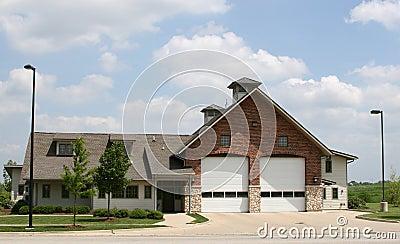 Suburban Fire House