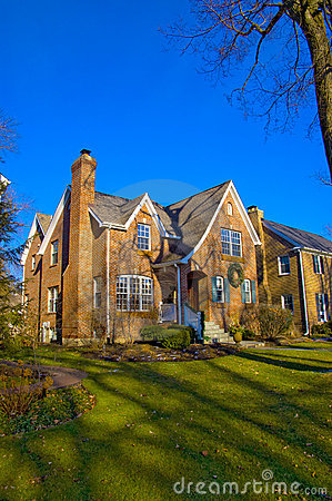 Suburban home in Illinois