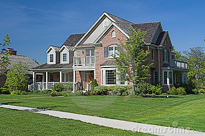 Suburban luxury home