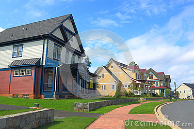 Suburban Street Stock Photos - Image: 26318163