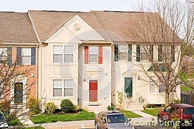 Suburban townhouses
