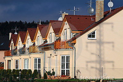 Suburbia Community Royalty Free Stock Photography - Image: 1659757