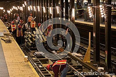 Subway construction