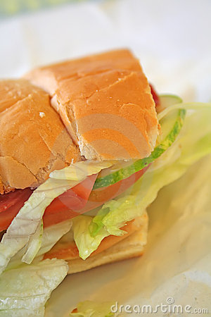 Free Subway Sandwich Meal Stock Photos - 4332533