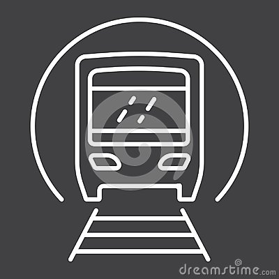 Free Subway Train Line Icon, Transport And Railway Royalty Free Stock Image - 101165216