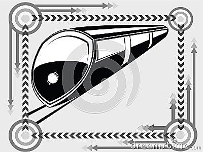 Subway transport icon