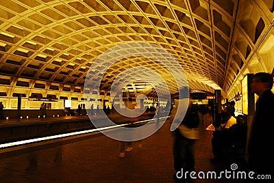 Subway in Washington DC