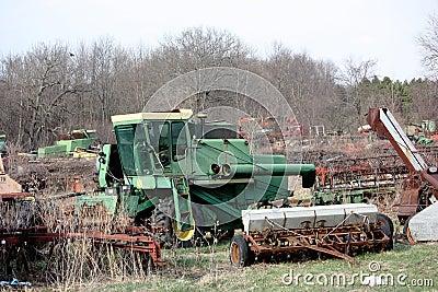 Sucata da exploração agrícola
