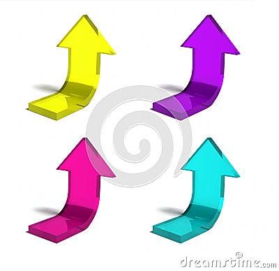 Succes arrows