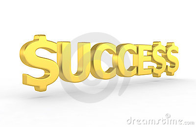 Success - 3d render