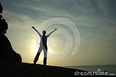 Success and Achievement Silhouette
