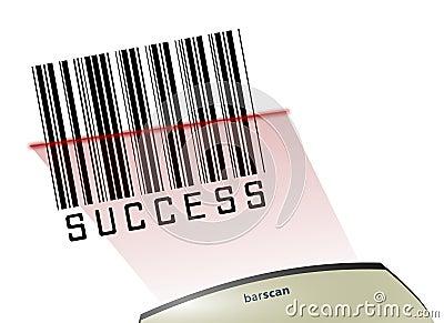 Success Bar code